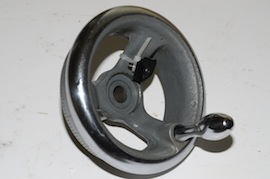 main view myford super 7 7B ml7r ml7 leadscrew handwheel for sale