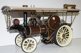 "Maxwell Hemmens 1"" showmans traction engine Burrell live steam for sale"