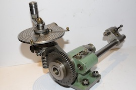 tailstock2 view george thomas hemmingway versatile dividing head for sale