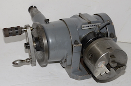 main view Hofmann universal dividing indexing head for sale