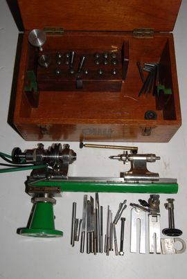 complete view ime watchmakers lathe for sale