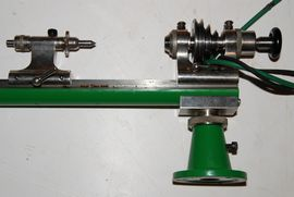 back view ime watchmakers lathe for sale