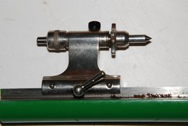 tailstock 2 view ime watchmakers lathe for sale