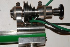 pulley back view ime watchmakers lathe for sale