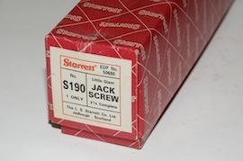 box view starret jack screw S190 S191 for sale