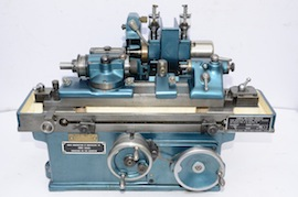 front view jones shipman 520 miniature cylindrical grinder for sale