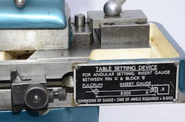 setting view jones shipman 520 miniature cylindrical grinder for sale