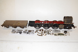 "main view 5"" GWR King 4-6-0 live steam 4 cylinder locomotive loco for sale"