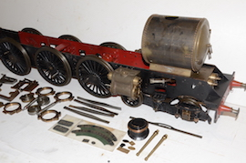 "side view 5"" GWR King 4-6-0 live steam 4 cylinder locomotive loco for sale"