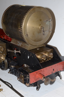 "front view 5"" GWR King 4-6-0 live steam 4 cylinder locomotive loco for sale"