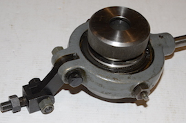 main view lever action collet chuck myford lathe for sale