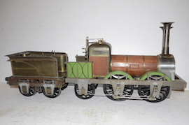 "Main 5"" Lion 0-4-2 LBSC live steam loco Titfield Thunderbolt for sale"