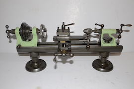 front view Lorch & Schmidt LL clockmakers watchmakers lathe for sale