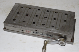 Eclipse magnetic chuck milling plates for sale