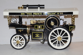 "main view Markie 1"" Showmans live steam traction engine Price of Wales for sale"