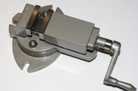 main view rotating machine vice for sale