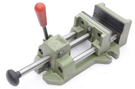 side view quick adjusting clamping machine vice for sale