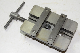 under view Myford machine vice for vertical milling slide for sale