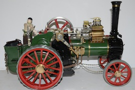thresher view Ransomes Thresher Minnie live steam traction engine 1 inch  for sale