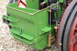"tank view Minnie 2"" live steam traction engine for sale"