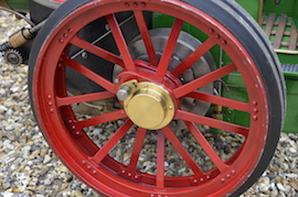 "wheel view Minnie 2"" live steam traction engine for sale"