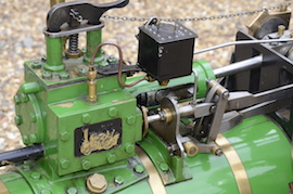"valve view Minnie 2"" live steam traction engine for sale"