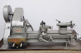 front view Myford ML10 lathe with hemmingway gearbox for sale V134641