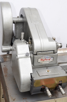 cover view Myford ML10 lathe with hemmingway gearbox for sale V134641