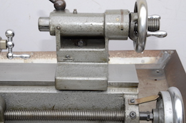 tailstock view Myford ML10 lathe with hemmingway gearbox for sale V134641