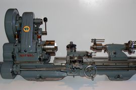 left view Myford  ML7 ML7R lathe for sale K132104