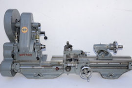 main view Myford  ML7 lathe for sale K31417