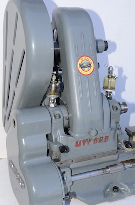 left view Myford  ML7 lathe for sale K31417