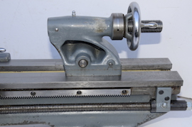 tailstock view Myford  ML7 lathe for sale K31417