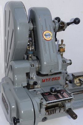 main view Myford  ML7 lathe for sale K62952