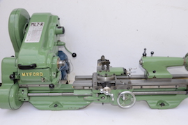 main view Myford ML7R lathe for sale KR143737