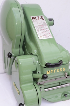 front view Myford ML7R lathe for sale KR143737