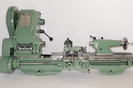 main view Myford ML7R lathe KR164162 for sale