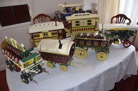 main view model collection horse drawn gipsy traveller wagon caravan brewery beer wagon for sale