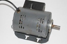 front view single phase motor 3/4 Hp for myford Super 7 lathe for sale