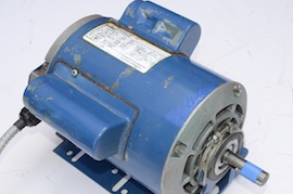 side view single phase motor 1 Hp for myford Super 7 lathe for sale