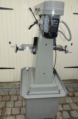 back view Myford VMC milling machine for sale