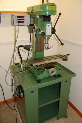 front view myford vmb vertical milling machine for sale