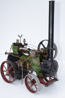 "main 1"" vintage old portable live steam engine for sale L. Billingham of Devizes"