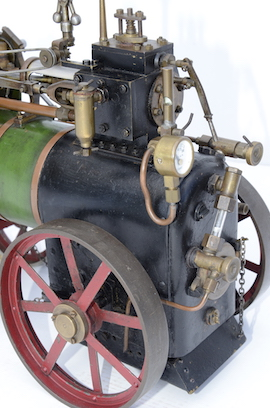 "wheel 1"" vintage old portable live steam engine for sale L. Billingham of Devizes"