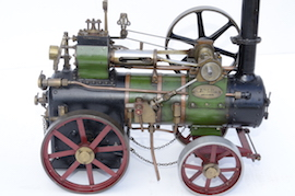 "side 1"" vintage old portable live steam engine for sale L. Billingham of Devizes"