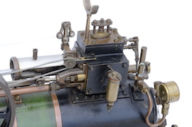 "motion 1"" vintage old portable live steam engine for sale L. Billingham of Devizes"