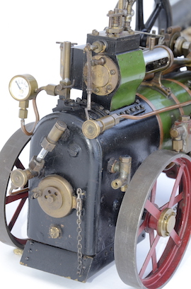 "backhead 1"" vintage old portable live steam engine for sale L. Billingham of Devizes"
