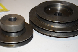 close view Myford ML10 pulley for sale