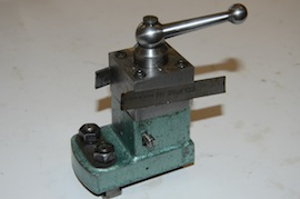 main view George Thomas rear tool post myford lathe for sale
