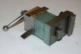 bottom view George Thomas rear tool post myford lathe for sale
